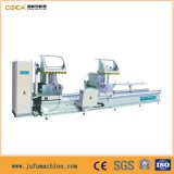 Aluminio y Perfil de Ventana de PVC Máquina CNC Sierra de Corte de Doble Cabeza