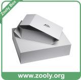 Caixa de presente de empacotamento de papel Foldable do armazenamento do cartão rígido pequeno