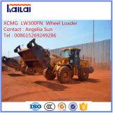 Addetto al caricamento Lw300fn della rotella di XCMG un mini addetto al caricamento da 3 tonnellate