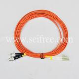 Одиночный модельный Multi шнур заплаты оптического волокна режима (CATV FTTH)