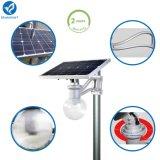 옥외 12W 운동 측정기 통합 LED 태양 거리 정원 빛