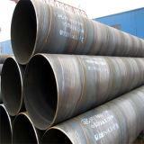 Conduttura del metallo saldata spirale ad alta resistenza del acciaio al carbonio della fabbrica