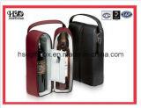 革表示ワインの包装のギフト用の箱