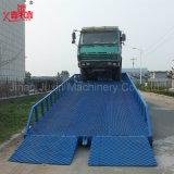 Manuelle hydraulische justierbare Laden-Yard-Rampe für Behälter