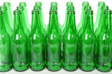 750ml緑のガラスビンまたは緑のワイン・ボトルまたは緑の飲料のびん