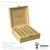 Sachets à thé en bois personnalisés par prix bas de Hongdao bourrant la boîte-cadeau avec le _E de garniture