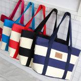 Хлопка людей женщин способа мешок Tote сумки плеча заплатки Tote бакалеи хозяйственной сумки Eco Unisex многоразового Linen содружественный