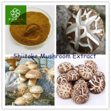 Polisacárido do extrato 50% do cogumelo de Shiitake