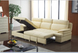 Chinarecliner-Sofa, Wohnzimmer modernes L Form-Sofa, Bett-faltendes Funktions-Sofa (967)