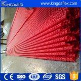 中国のゴム製ホースの工場からの黄色か赤くまたは黒くまたは灰色または青か緑のプラスチックホースの監視