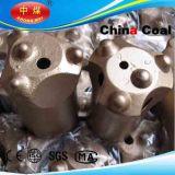 Pedacito de taladro del botón de los pedacitos de taladro de roca del botón del hilo de rosca del acero de carbón
