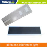 luz de calle solar integrada de 30W LED con la salvaguardia de batería