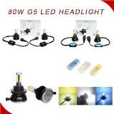 Linterna lista para el uso 6000k H4 H7 9005 LED de la linterna impermeable del 100% linterna de 9006 LED