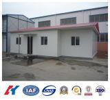 Casa prefabricada temporal de la estructura de acero para Angola (KXD-pH23)