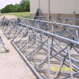 Drei Leged StahlGuyed Antennenmast