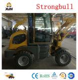 Chargeur de terrassement de roue de Strongbull Zl12 de machines avec la balayeuse