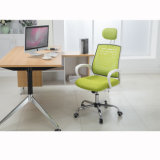 MITTLERE rückseitige Ineinander greifen-Computer-Büro-Schreibtisch-Aufgabe mit metallhaltigem justierbarem ergonomischem Manager-Direktor Lift Chair
