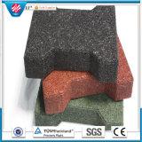 Recicl a telha de borracha/telha de borracha de bloqueio/telha de borracha ao ar livre