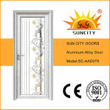 Les portes en aluminium de vente chaude modèle (SC-AAD075)