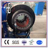 """フィン力のTechmaflex Uniflexの油圧1/4台の"""" ~2 """"ホースひだが付く機械"""