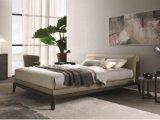 самомоднейшая нордическая просто кожаный мебель спальни гостиницы дома кровати ткани