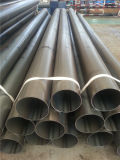 黒いQ195~Q345bの炭素鋼の物質的な構造黒ERWの管