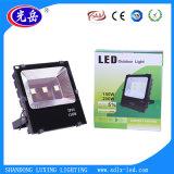 Iluminação exterior 100W LED Floodlight com boa dissipação de calor