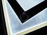 Marco magnético de aluminio LED delgado que hace publicidad de la caja ligera