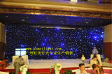2015 neueste LED Star Cloth für Wedding Stage Backdrop