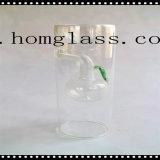 さまざまなガラス蝋燭ホールダーかロウソクまたはCandleholder