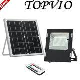 Reflector al aire libre recargable 6With10With12With18W de la batería LED con el panel solar