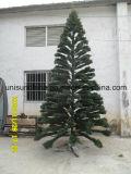 IncandenscentライトとのPEの先端の現実的なクリスマスツリー(サイズのフルレンジ)