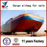 Jinzheng a fait le sac à air en caoutchouc marin pour le lancement de bateau