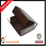 Zoll, der den magnetischen Schliessen-Papppapier-Geschenk-Kasten Großhandels, verpackenkasten verpackt
