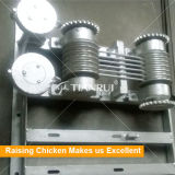 Машина чистки шабера позема клетки цыпленка бройлера для фермы цыпленка