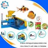 200-300kg / H Línea de procesamiento de alimentos para mascotas, comida de pescados Máquina