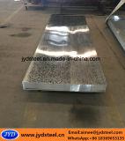 構築のための電流を通された鋼板
