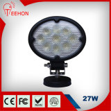 6inch 27W 크리 말 IP68 Tractor Offroad LED Work Light