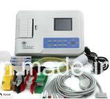 Машина 3 Chnnel Veterinary/ветеринара/любимчика/животного/собаки/кота ECG 1 Electrocardiograph канала