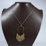 新しい項目目の形の吊り下げ式のふさの方法宝石類のネックレス