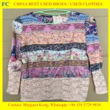 Ropa usada al por mayor de la primera clase, ropa usada en balas de China, ropa caliente de la segunda mano de la venta para el mercado africano (FCD-002)