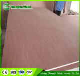 madera contrachapada de Okoume de la base del álamo de 9m m para la decoración de los muebles
