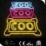 Lumière de motif de décorations de rue 2D