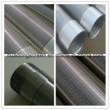 Tubo filtrante del receptor de papel de agua del acero inoxidable de Od273mm/filtro de Johnson