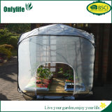 Serre chaude instantanée de PE d'Onlylife BSCI de serre chaude réutilisable de jardin
