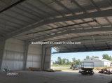 Grande hangar pré-fabricado dos aviões da construção de aço