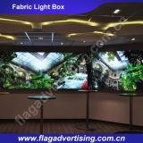 Tessuto di alluminio facilmente trasportato LED del blocco per grafici che fa pubblicità alla casella chiara
