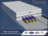 Construcción prefabricada del almacén del bajo costo para el centro de la logística