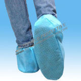 Shoe non tessuto Cover con Anti-Skid, Disposable Shoe Cover