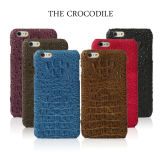 Luxury en gros 4.7inch Cas Genuine Crocodile Leather Cas pour l'iPhone 6